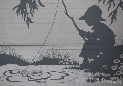 Fishin' by Nancy M.