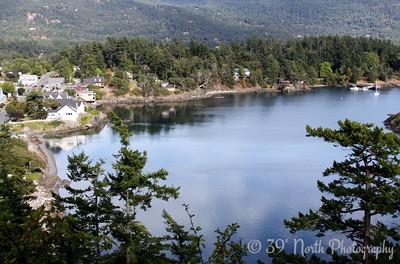 Fishing Bay, Eastsound, WA, Take 1 by Karen B.