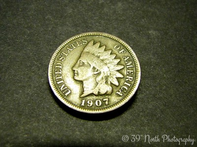 Indian Head Penny by Dave T.
