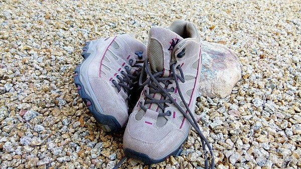 Hiking boots by Norma H.