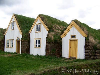 Sod Houses by Dave T.