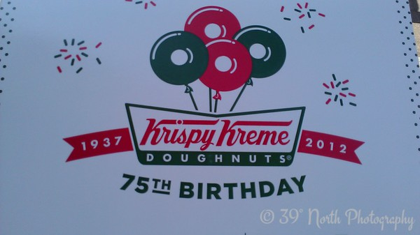 Helping celebrate Krispy Kreme by Betty S.