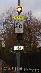 School speed limit by Betty S.
