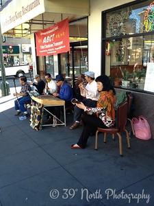 Street Musicians by Pam G.