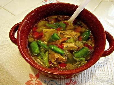 Veggie & Chicken Homemade Soup by Mikki K.