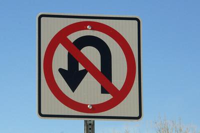 No U-Turn by