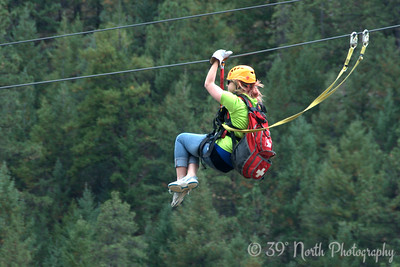 Girl on a Zip Line by Laurie H.