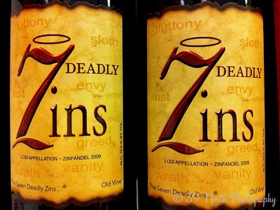 7 Deadly Zins by Dave T.