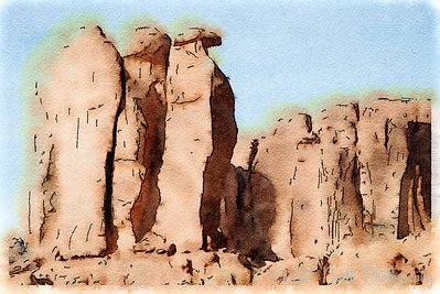The Three Penguins, Arches National Park