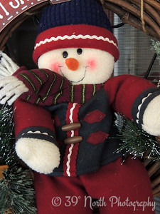 Cozy Snowman by Laurie H.