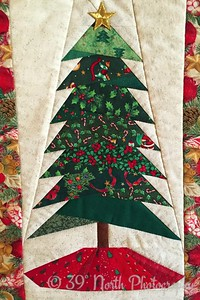 Quilted Christmas Tree by Laurie H.