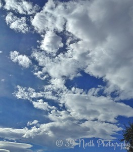 Clouds Make Me Smile by Pam G.