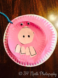 Paper Plate Pig by Betty S.