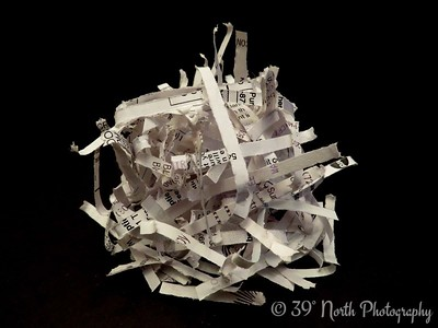 Shredded Paper by Dave T.