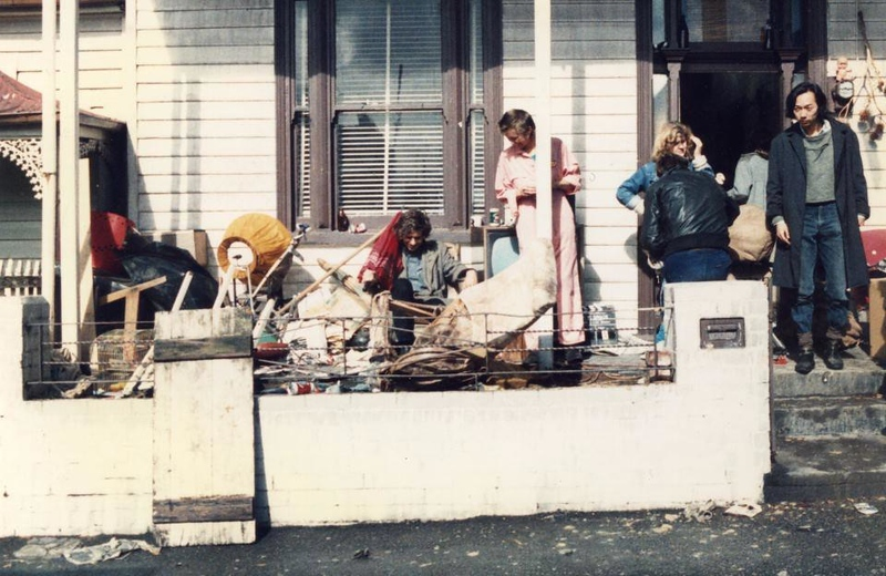Lowenstein, R, 1986, 18 Berry St, Richmond, location of the filming of Dogs In Space, https://www.facebook.com/18BerryStreetRichmond/photos/a.130297480366475/330419120354309/?type=3&theater