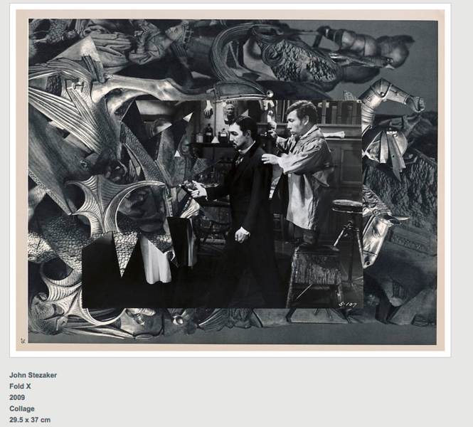 John Stezaker's work, currently in view at the CCP. Similarly to Elad Lassry's work, interrupts the image to raise questions. Stezekar however uses the techniques of collaging or slicing to break the images association with language or identity. Often associated with surrealist painters and film makers; especially the image below to Salvidor Dali's 1929 film Un Chien Andalou. <br /> Again, this work is of particular interest in relation to the appropriation of images to create a distant familiarity by using familiar images however then breaking the narrative to transforms the artwork into the surreal or uncanny. By doing this new meanings come forward. Similar to Stezaker, I am looking into an cultural generation just before I was born, by employing similar techniques, this could also pose questions around obsolete cultures.