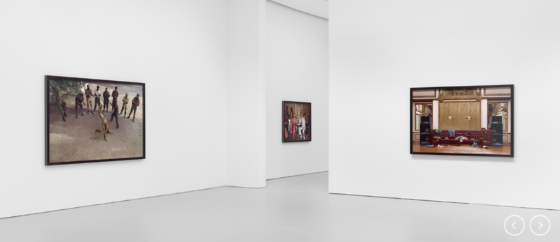 Douglas, S, 2012, Disco Angola, Installation View, David Zwirner Gallery, New York, USA