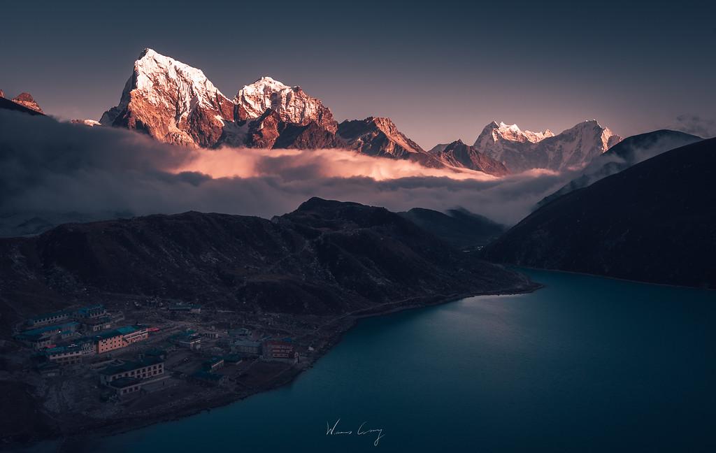聖母峰基地營 EBC 健行紀錄 (下) 翡翠聖湖Gokyo by Wilhelm Chang 張威廉