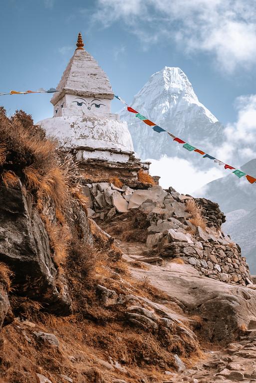 聖母峰基地營 EBC Chola Pass Gokyo湖 健行記錄 by 張威廉 Wilhelm Chang