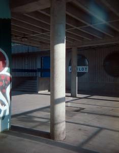 CineStill 800T (expired 2016) shot in a Holga