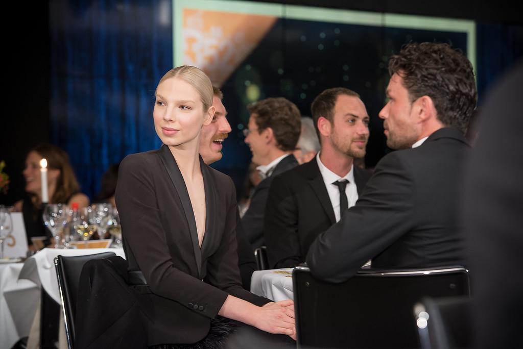 Valentijn de Hingh tijdens de uitreiking van de WINQ People Award 2015