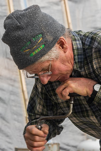 2018-Week 19 - Worker at Cape Cod Maritime Museum