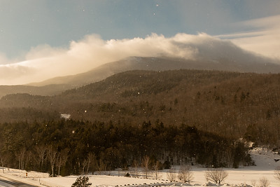2020-Week 04 - Mt  Washington from Great Glen With a Light Snowfall