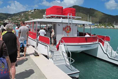 This is the boat that took us to Virgin Gorda and back.