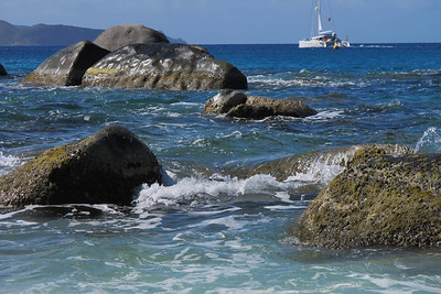 Sea and, yes, boulders...