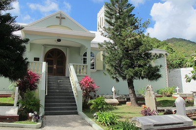 St George's Anglican Church in Pickenin Street.
