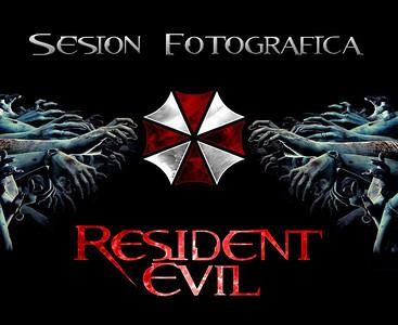Sesión Fotográfica Resident Evil