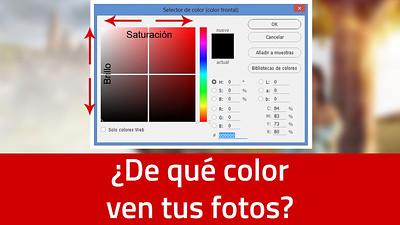 ¿De qué color ven tus fotos?