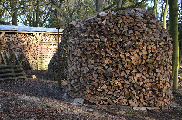 Holz Hausen