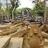 Beng Mealea isn't officially part of the Angkor area. It was a 2-hour tuk-tuk ride away.