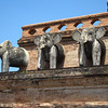 Elephants on Chedi Luang