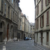 Streets of Geneva's Old Town