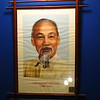 Poster of Ho Chi Minh in my hostel.