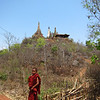 Ruined pagodas at Shwe In-Dein