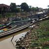 Boats at Hpaung Daw U Pagoda