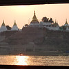 Sagaing Hill at sunrise