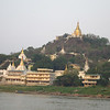 Sagaing Hill from the river