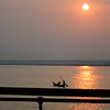 Fishermen at sunrise on the Irrawaddy