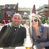 Me and Andrea at the historic Anchor pub.