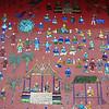 Glass mosaic at Wat Xieng Thong