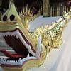 A balustrade at the Royal Palace temple