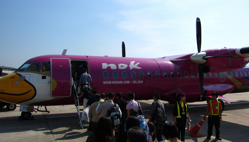 My ATR-72 from CNX to HGN.