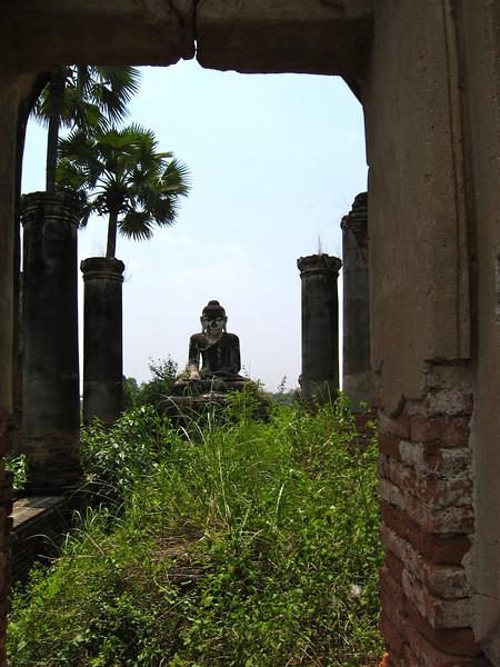 Abandoned temple at Inwa