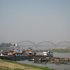 The Yadanabon Bridge over the Irrawaddy