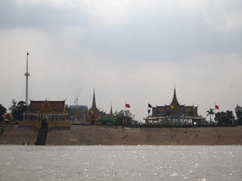 Phnom Penh from the Mekong River