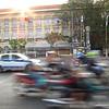 Saigon traffic.